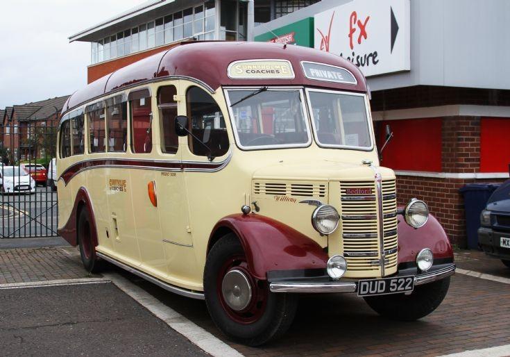 Bedford OB DUD 522 Sunnyholme Tours