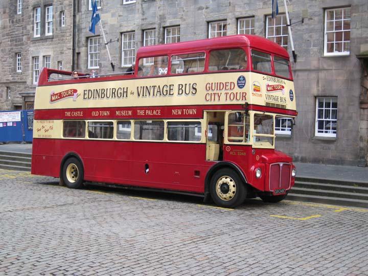 AEC Routemaster CUV 248C Edinburgh Tourbus