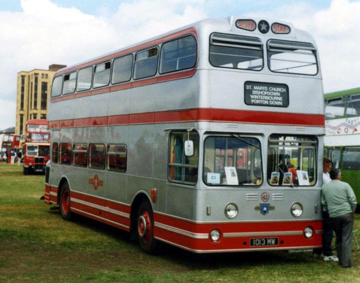 Silver Star Leyland Atlantean bus 1013MW