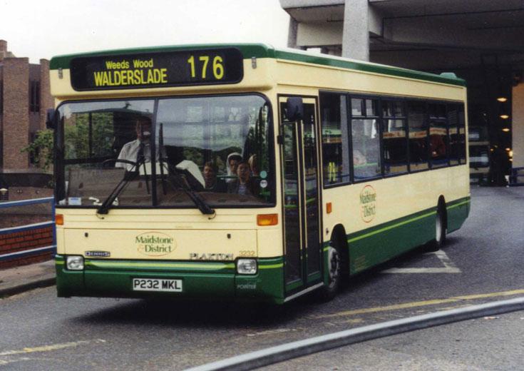 1997 built midi bus Dennis Dart SLF