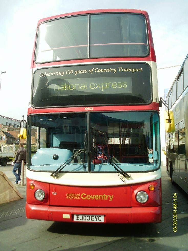 4453 - The Coventry Commerative Trident