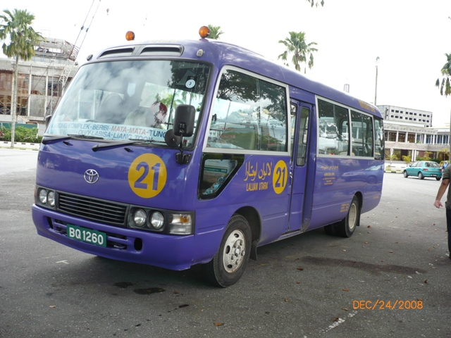 Toyota Coaster 22 seater bus