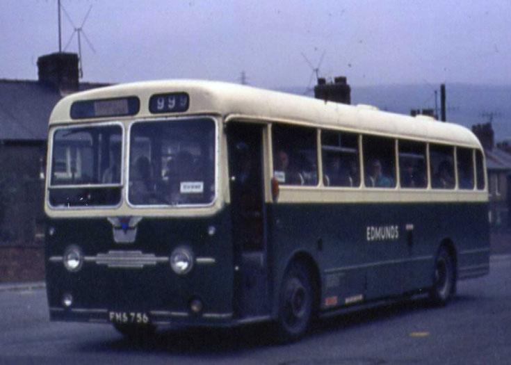 AEC Reliance bus FMS756