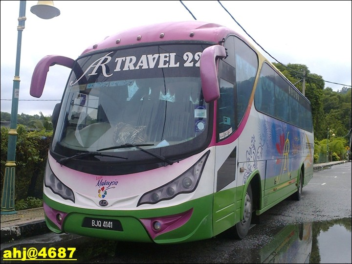 Tourist Bus- BJQ 4141