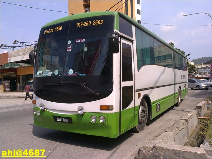 Tour Bus-NBE7017