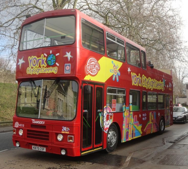 York Sightseeing Bus