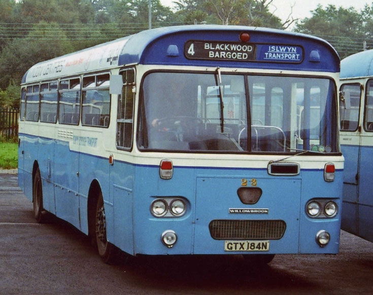 Leyland Leopard bus with Willowbrook body