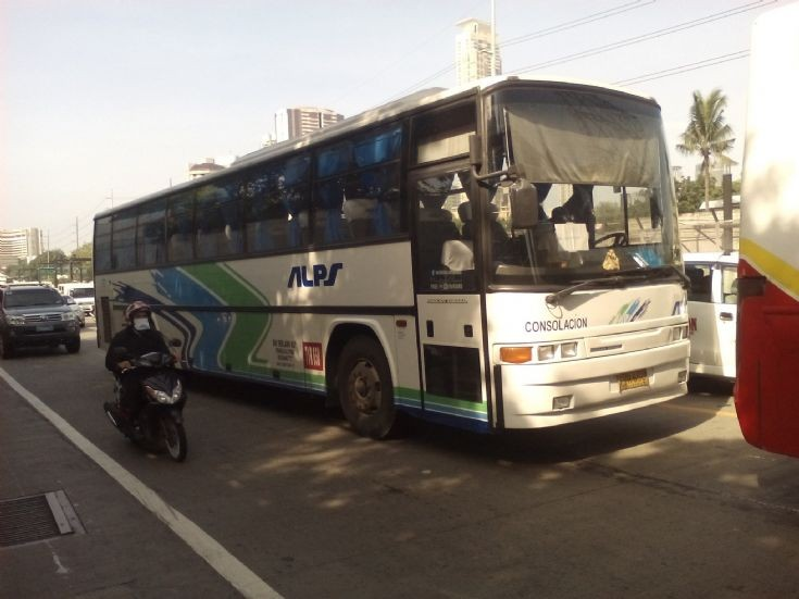 ALPS The Bus, Inc. 707 Consolacion - Nissan Diesel