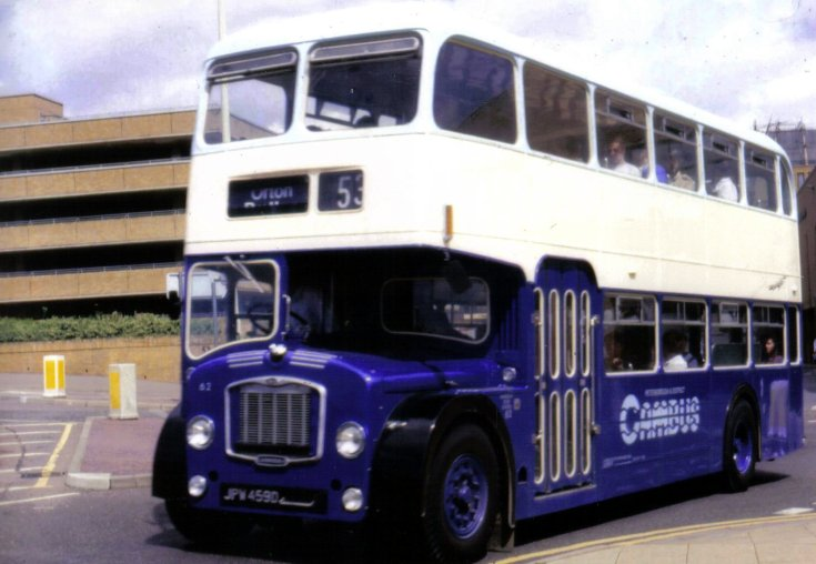 Bristol / ECW double deck bus