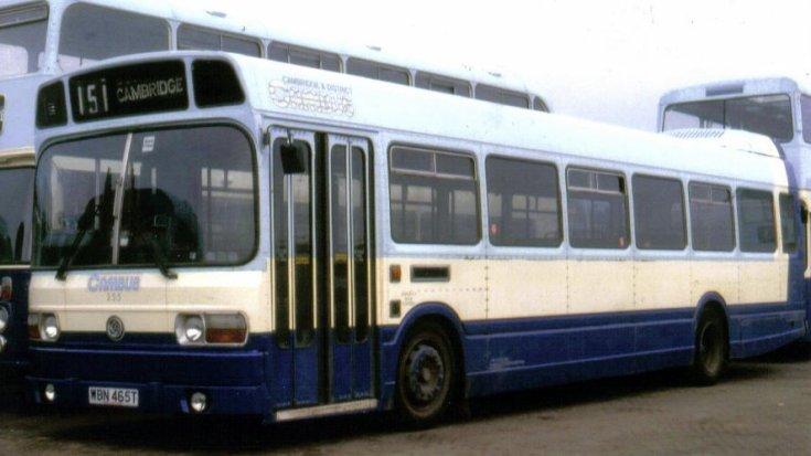 Cambus Leyland bus line 151 Cambridge