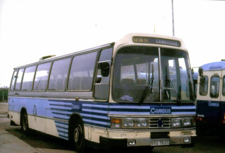 Photo of the Cambus VYU762S