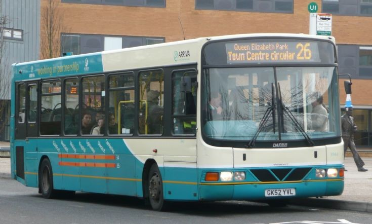 VDL SB120 owned by Arriva, England