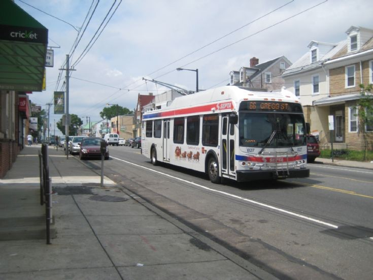 SEPTA New Flyer Trackless Trolley