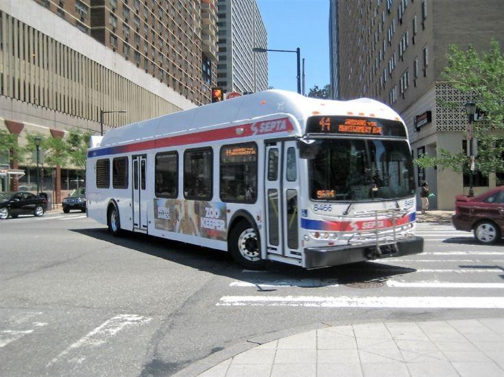SEPTA New Flyer Hybrid Bus