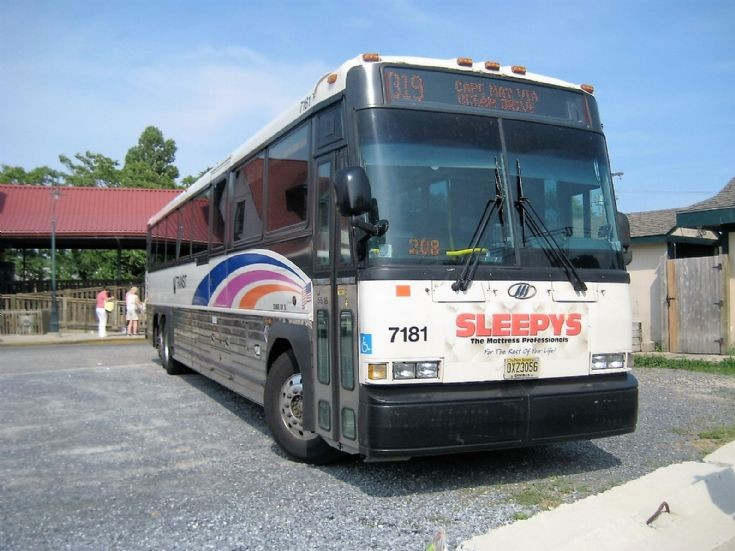 New Jersey Transit MCI D4500