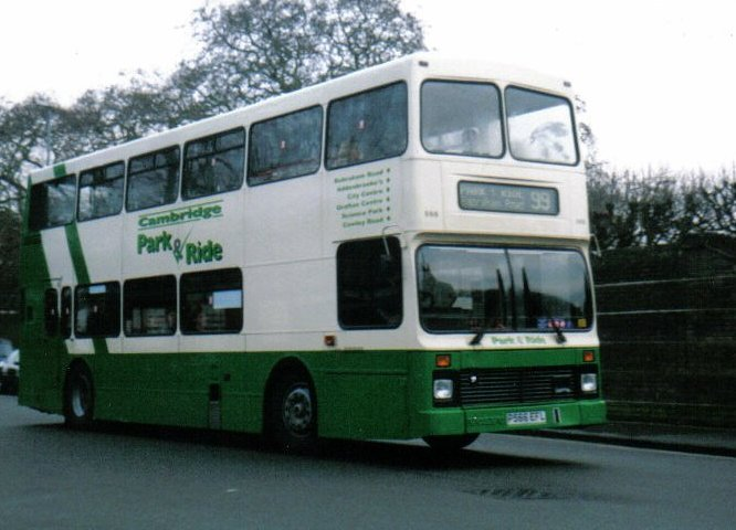 Cambridge Park And Ride bus