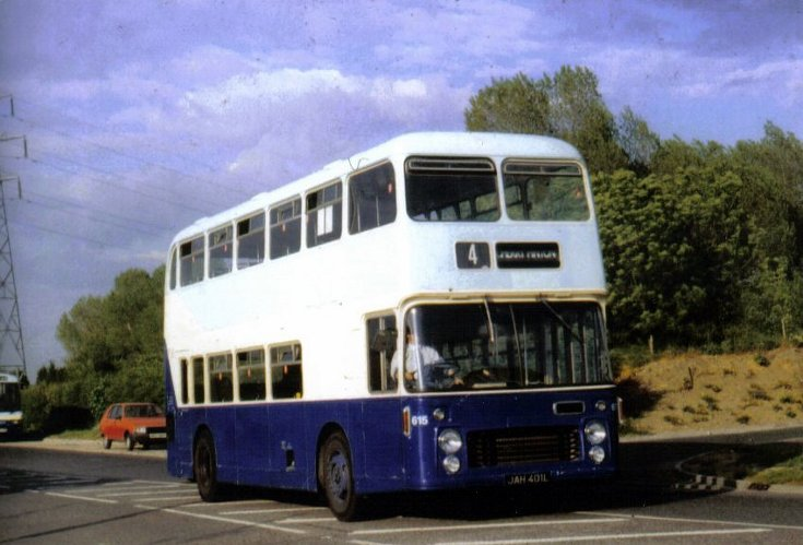 Bristol VRT/SL2 double deck bus