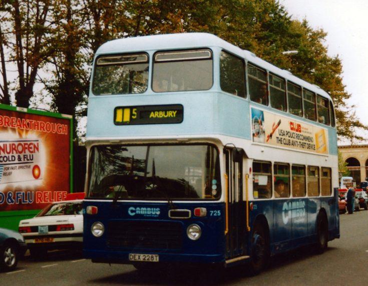 Cambus line 5 Arbury