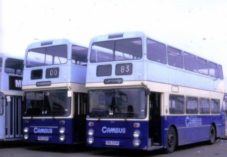Cambus Cambridge bus 804 and 806
