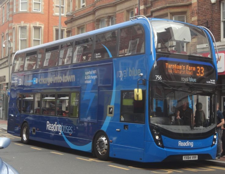 Reading Buses 756