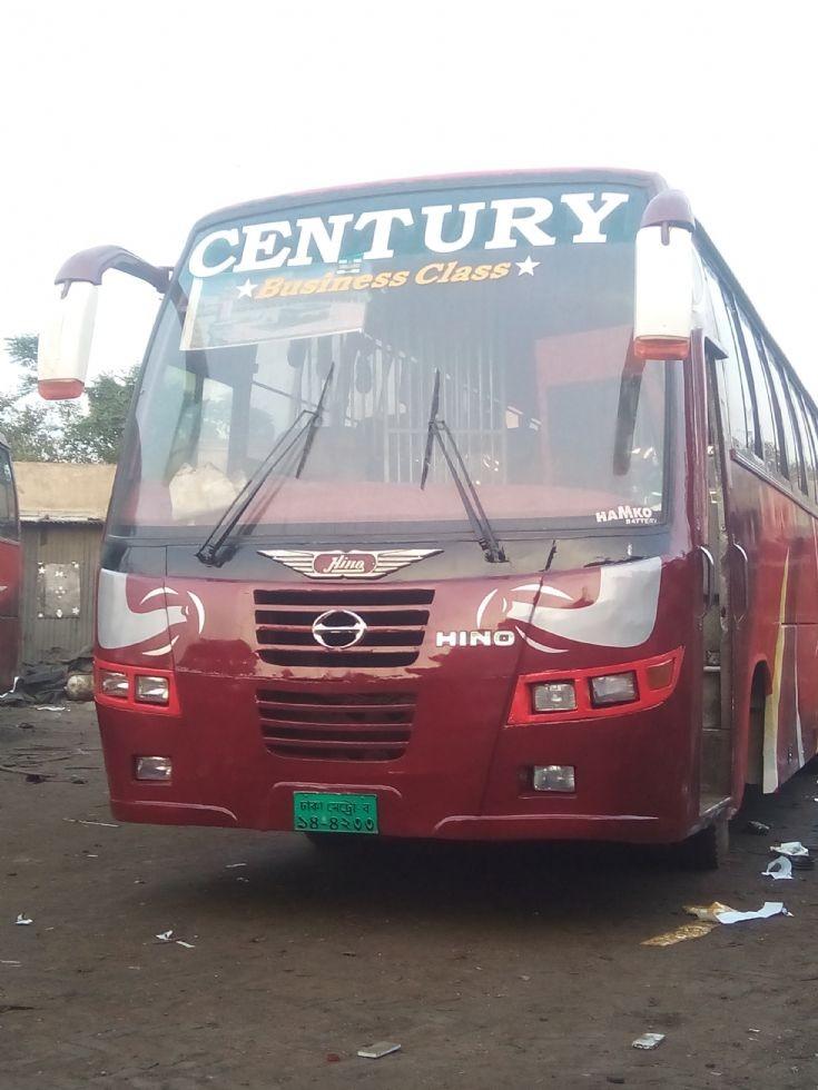 Century Travels. Dhaka - Jhenidah- Chougasa