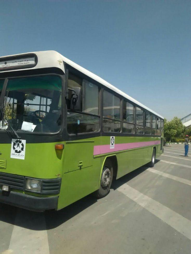 Iran khodro incity bus