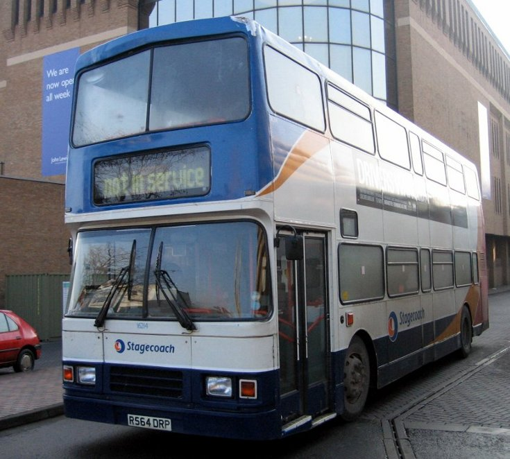 Stagecoach Volvo double deck bus