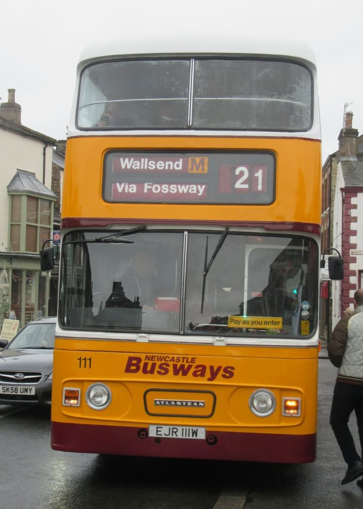 Newcastle Busways 111