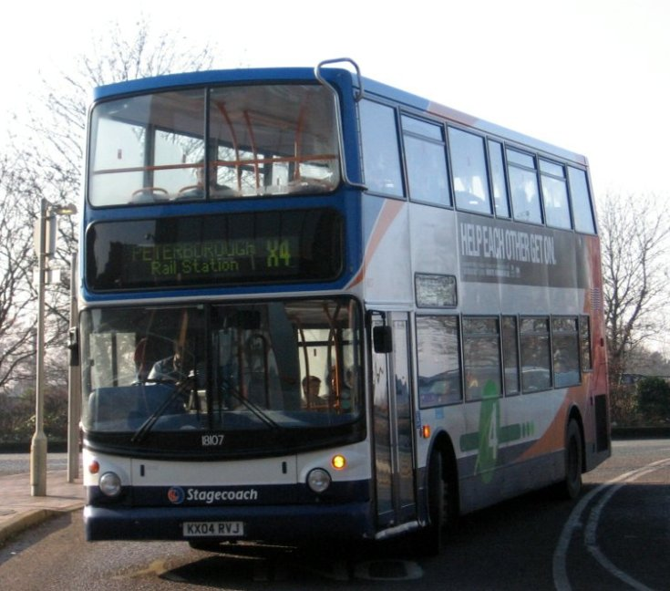 Photo of Stagecoach bus 18107