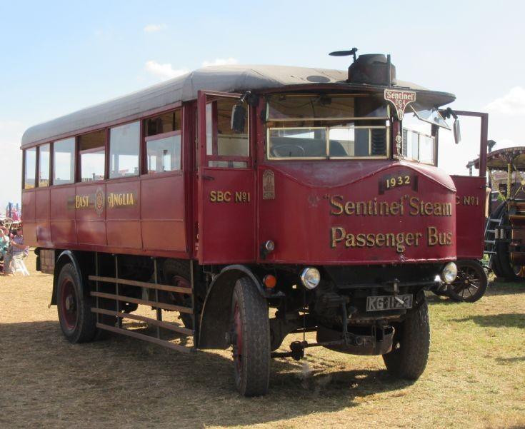 East Anglia Sentinel Steam Bus