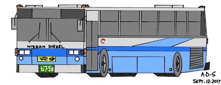 Digital bus drawing