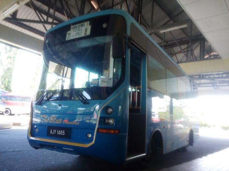 The Blue Omnibus-AJY 1465