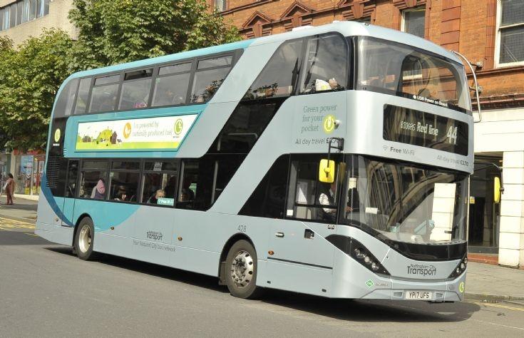 YP17UFS Nottingham City Transport 428