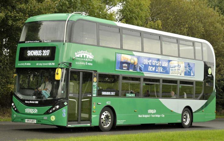 YP17UFC Nottingham City Transport 402
