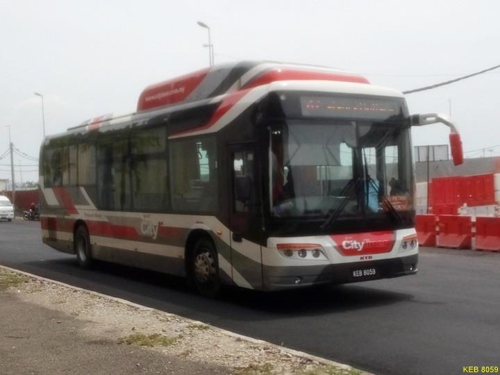 KEB 8059-City Liner Bus