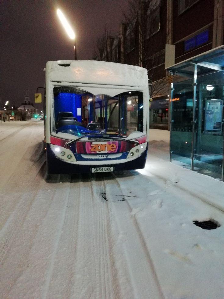 E300 in the snow