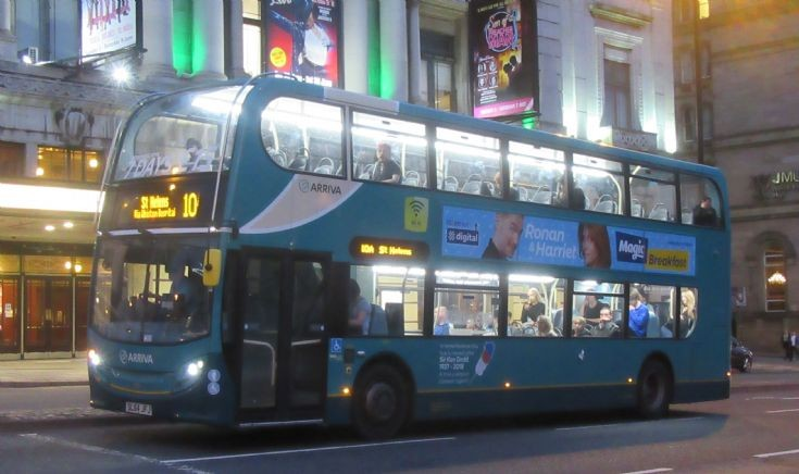 Arriva in Liverpool