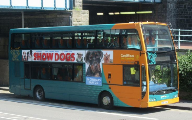 Cardiff Bus 464