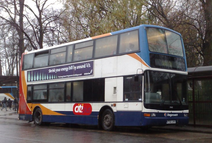 Stagecoach double decker bus 17692