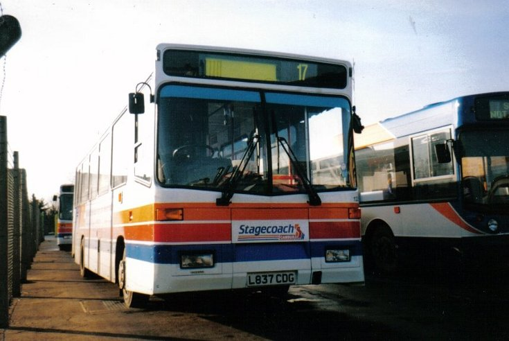 Stagecoach Cambus depot