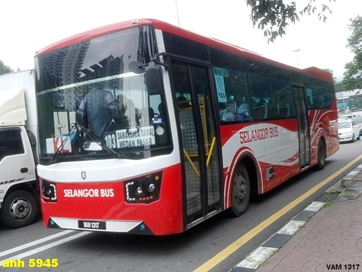 VAM1317-SELANGOR BUS
