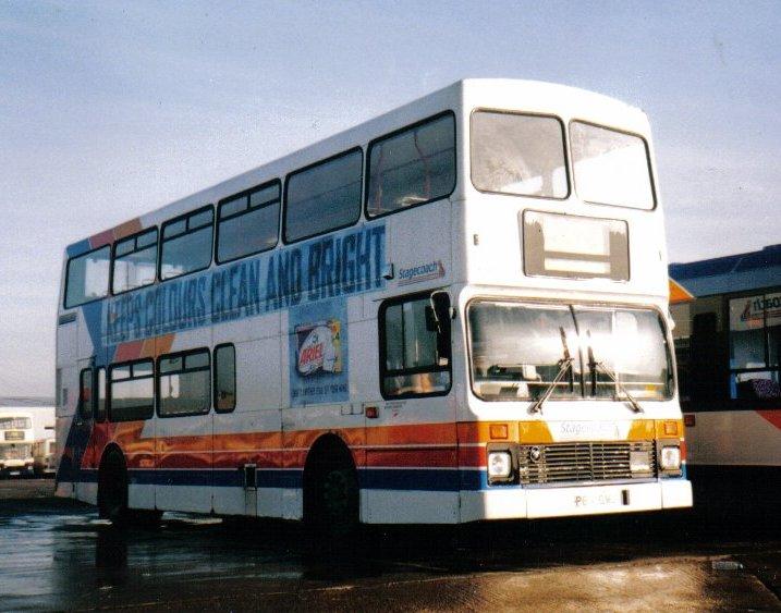 Volvo Olympian bus P811GMU