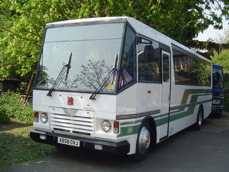 A858 OVL Bedford NJM (SB5) Wright DP50F