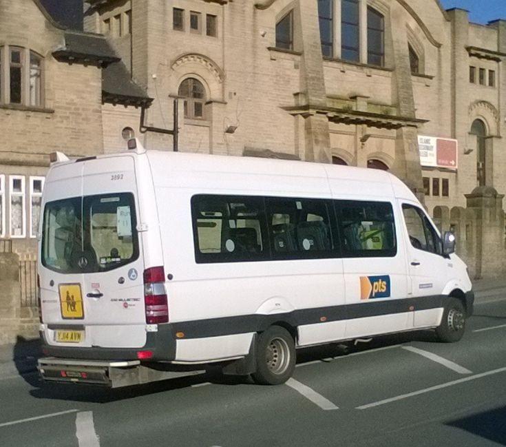 Shearbridge Depot minibus (YJ14AVM)