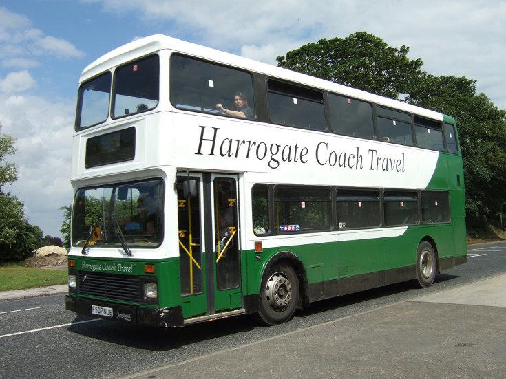 Harrogate Coach Travel double deck bus