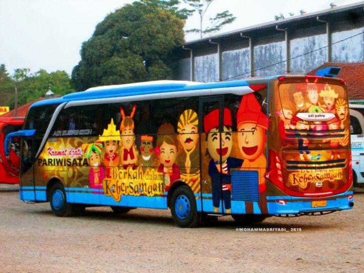 Kramat djati Tourist Bus