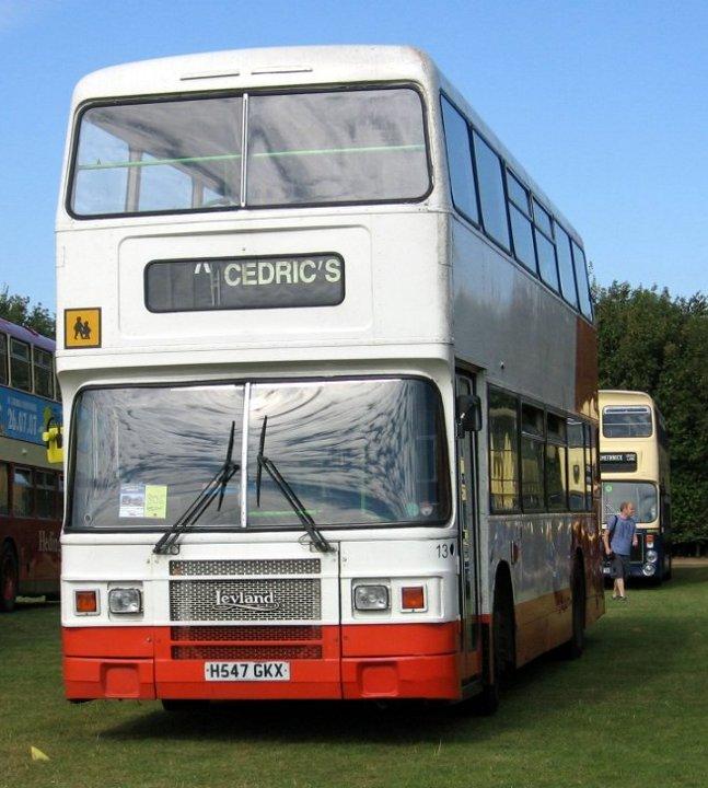 Cedric's Leyland Olympian H547GKX