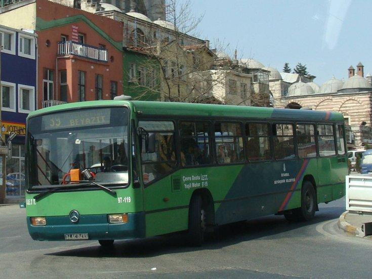 Istanbul's IETT bus 97-119