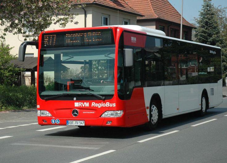 RVM Regiobus Citaro BOR-RV547