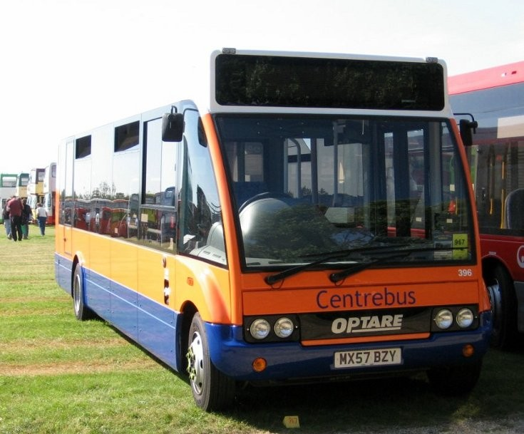 Centrebus Optare on display at Showbus